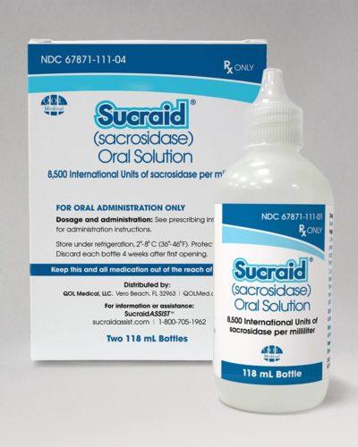 Sucraid® (sacrosidase) Oral Solution